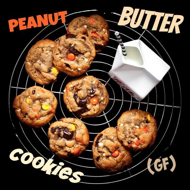 Peanut Butter Cookies GF